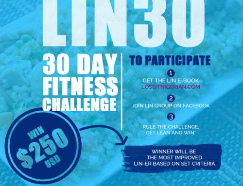 Nigerian Weightloss challenge – $250 USD Cash Prize for Winner